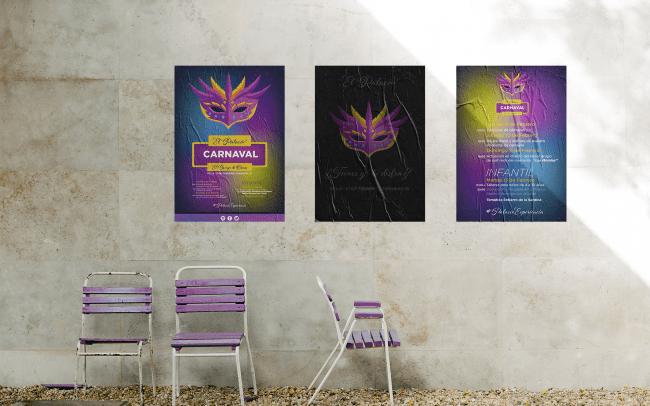 Diseño gráfico | Cartel de Carnaval
