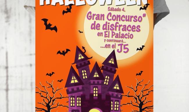 Diseño gráfico | Cartel de Halloween