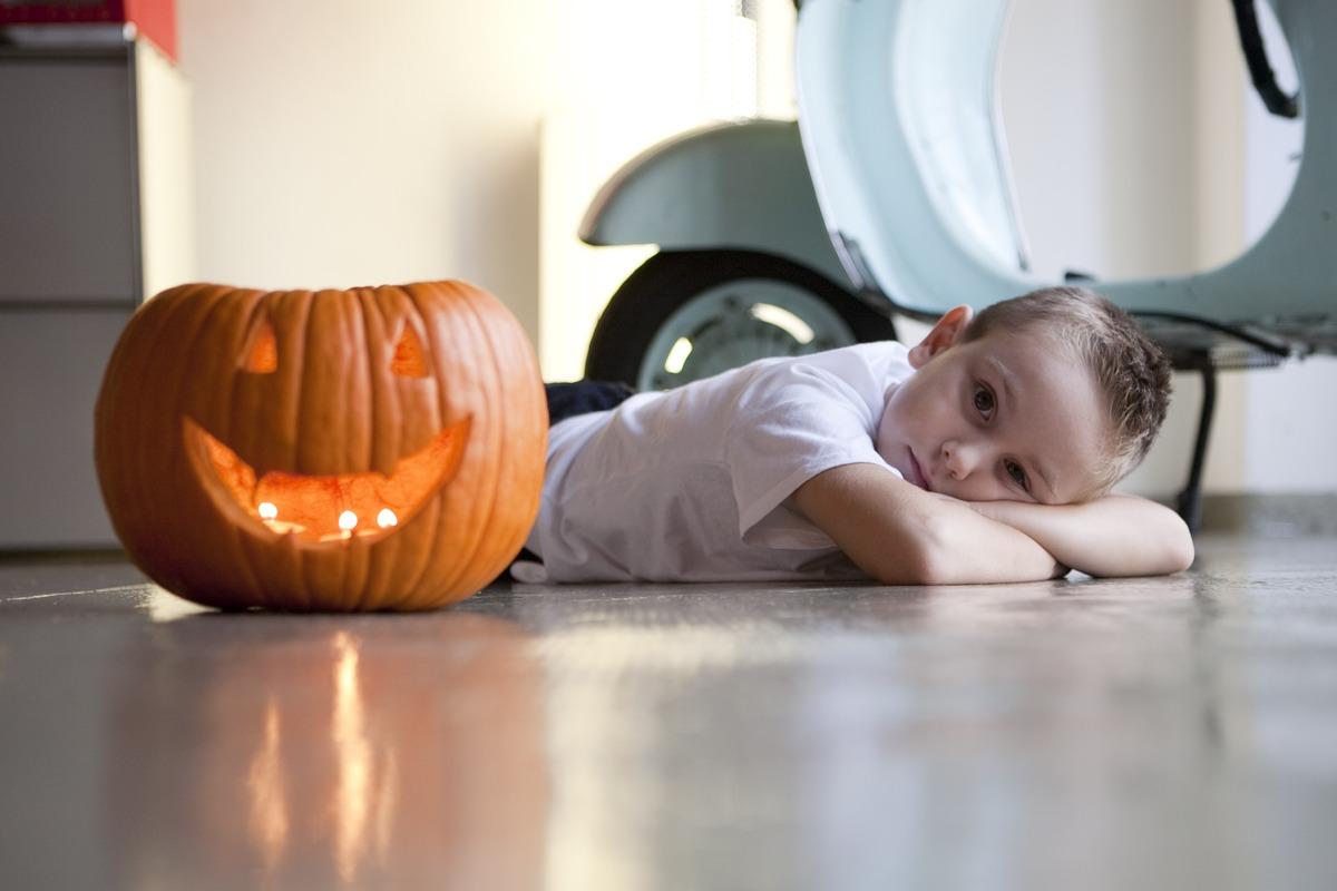 Fotografía de estudio | halloween niño
