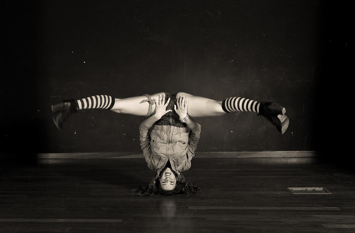 Fotografía de estudio | Urban Dancer equilibrio