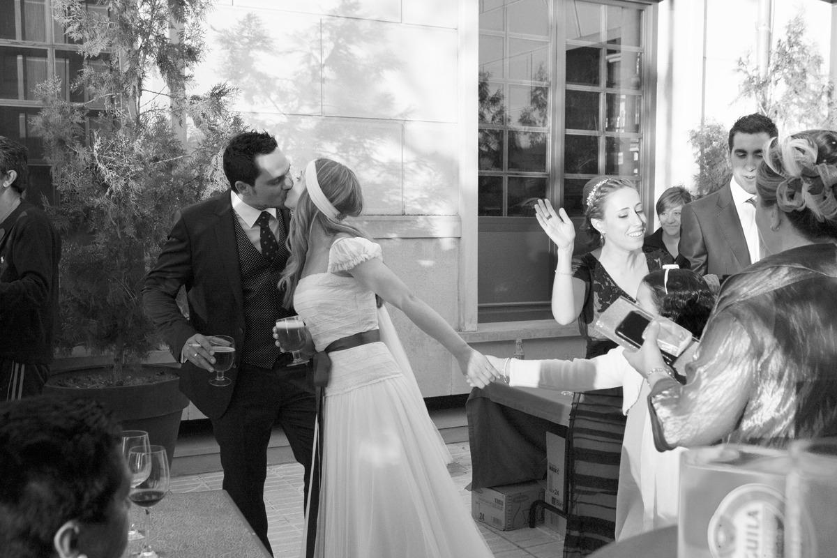 Fotografía de boda | brindis