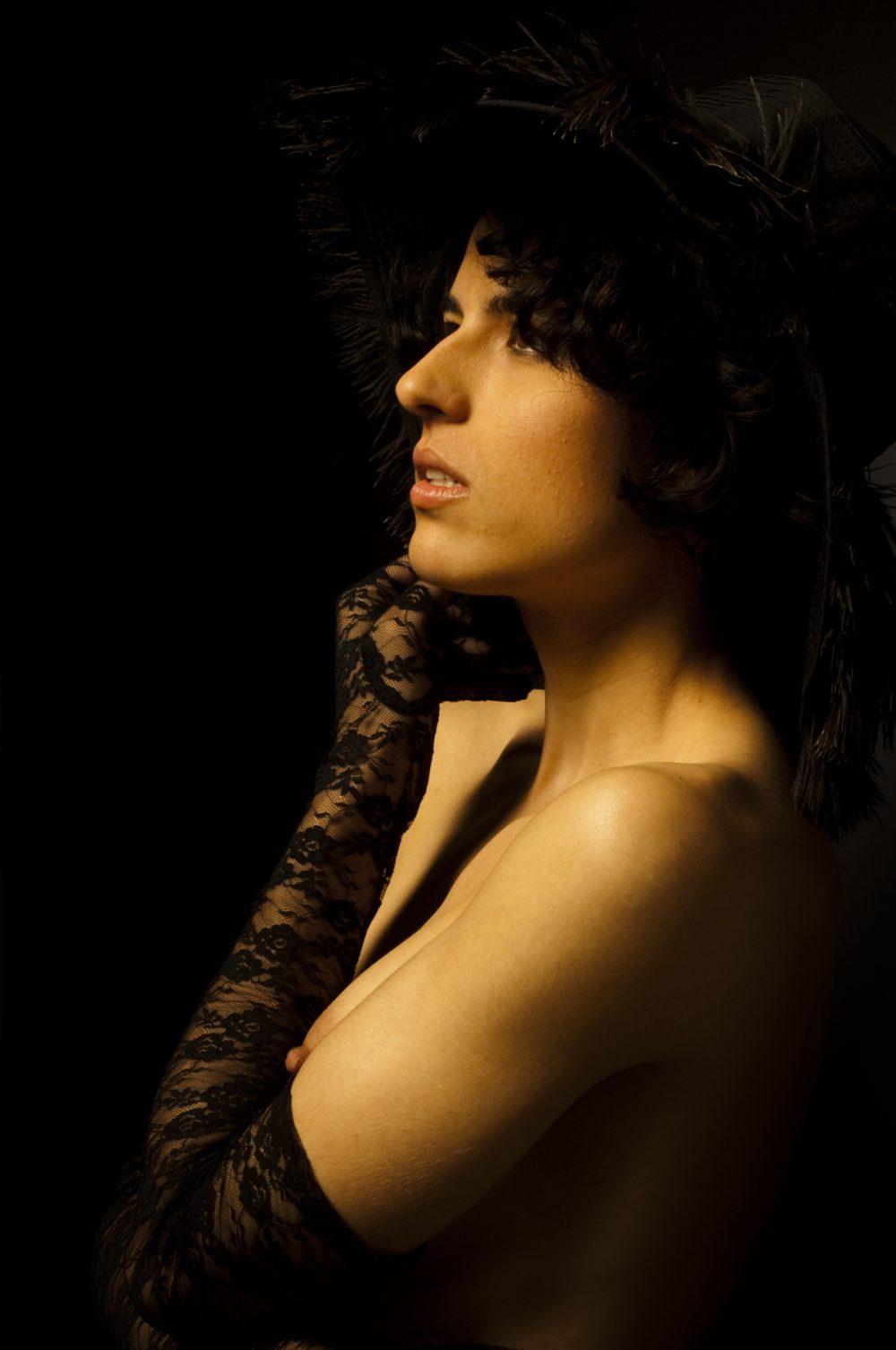 Fotografía de desnudos | Vanessa selfie